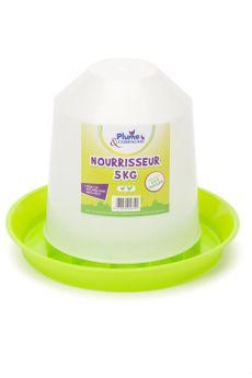 NOURRISSEUR PLASTIQUE ECONOMIQUE 5kg