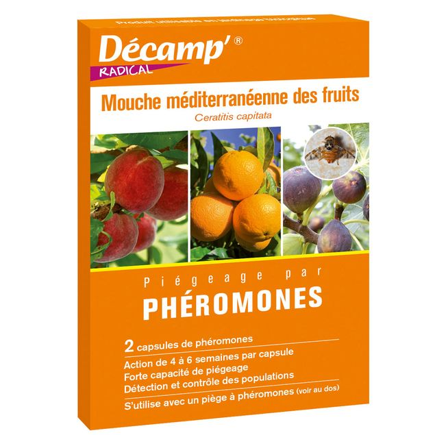 PHEROMONE CONTRE LA MOUCHE MEDITERRANEENNE DES FRUITS