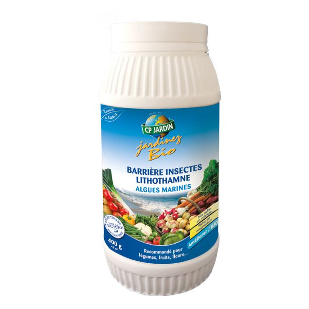 LITHOTHAMNE BARRIERE ANTI INSECTES